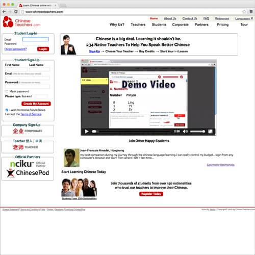 website picture chineseteachers.com domain reviews