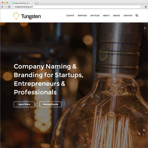 website picture tungstenbranding.com domain reviews