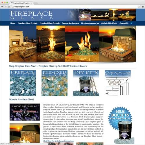 website picture fireplaceglass.com domain reviews