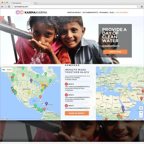 website picture karmakarma.com domain reviews
