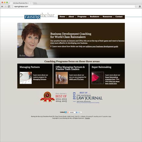 website picture raisingthebar.com domain reviews