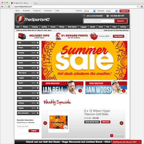 website picture thesportshq.com domain reviews